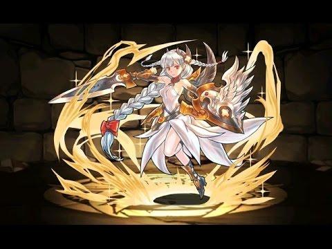 【パズドラ】降臨チャレンジ!聖女神(女神降臨!)超ベジット×孫 悟空PT※ノーコン