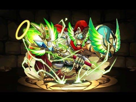 【パズドラ】降臨チャレンジ!剛戦神(ヘラクレス降臨!地獄級)超ベジット×孫 悟空PT※ノーコン