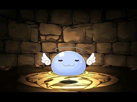 【パズドラ】ガンホーコラボダンジョン 実りの洞 地獄級 超ベジットPT※ノーコン