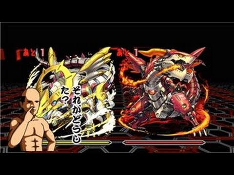 【パズドラ】火と光の機甲龍 火光対戦 中級 クシナダヒメ×諸葛亮PT※ノーコン