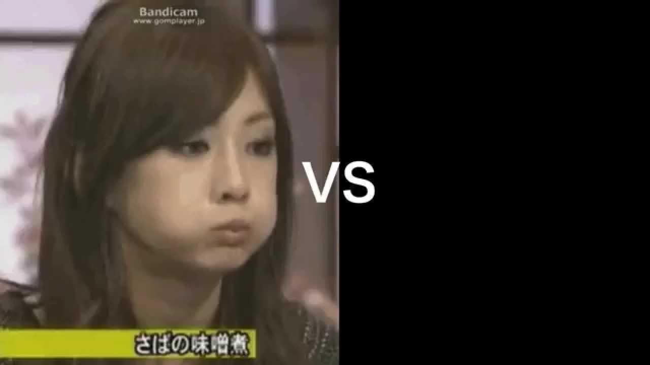 北川景子VS食べ方汚い王者決定戦!