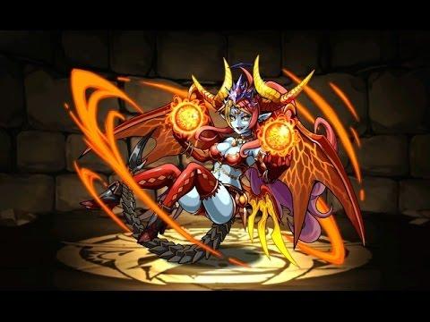 【パズドラ】降臨チャレンジ!魔炎妃(ヘラ・ウルズ降臨!超地獄級)超ベジットPT※ノーコン