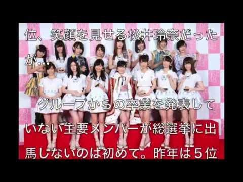 【SKE48・松井玲奈】総選挙不出馬表明!結局何がしぃたいねん?