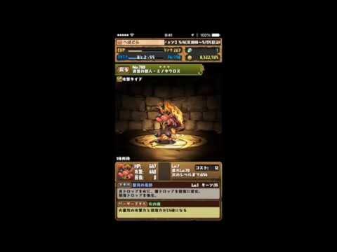 【パズドラ】スフィンクス降臨!獅王獣 地獄級 超ベジットPT※ノーコン