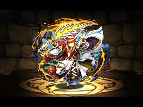 【パズドラ】降臨チャレンジ!武刀神(タケミナカタ降臨!超地獄級)超ベジットPT※木闇なし・ノーコン