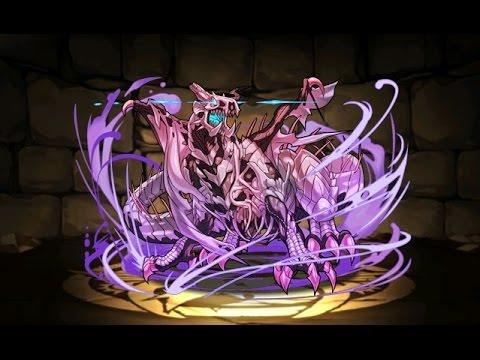 【パズドラ】デビルチャレンジ!屍霊龍 地獄級(ドラゴンゾンビ降臨!)超ベジットPT※ノーコン・周回